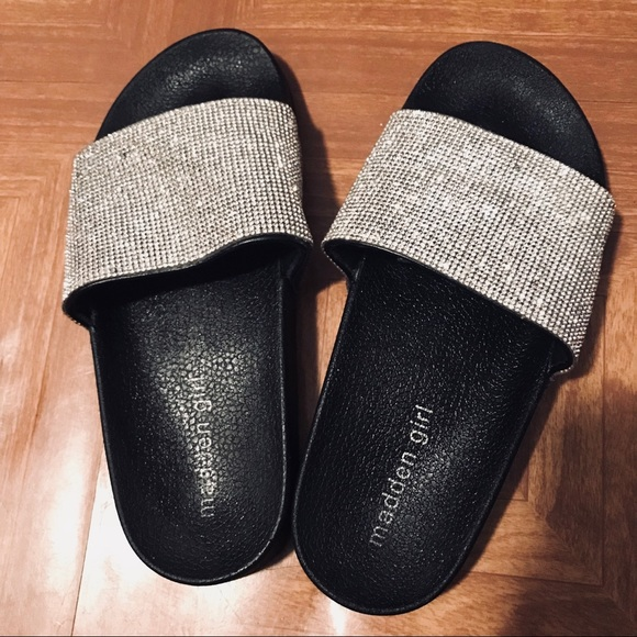 6ae8fb46bd9 Madden Girl Shoes - Steve Madden fancy slides